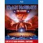 Iron Maiden En Vivo Estadio Sanitiago De Chile Blu-ray Imp.