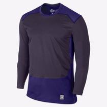 Buzo Nike Pro Combat Hyperwarm Shield Fitted Dri Fit - Usa
