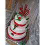 Torta Artesanal Bodas/15 Años. 3 Pisos Especial