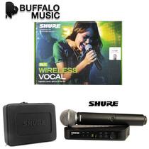 Shure Blx24/sm58 Sistema Inalambrico Con Microfono Mano Sm58