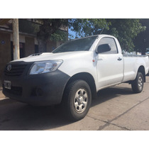 Toyota Hilux 3.0 Cabina Simple 2014 Pack 13700 Kms(chip-auto