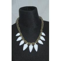 M54 Collar Gargantilla Estilo Retro Bolitas Plateadas Enhebr