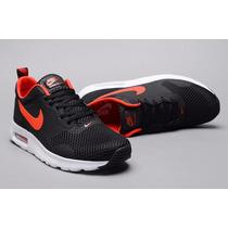 Nike Air Max Transit Black Red Hombre! Envios Oca