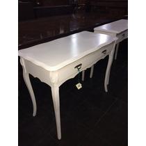Escritorio de pino pintado escritorios en muebles for Muebles antiguos pintados de blanco