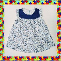 Vestido Floreado De Nena- Jumper