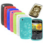 Funda Tpu Huellitas Blackberry 8520 9300 Silicona De Gel