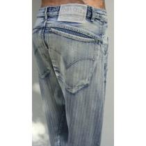 Cara Cruz Pantalon Hombre T4 Jeans Elastizado Azul (ana.mar)