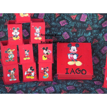 Portalpaices,golosineros La Casa De Mickey Mouse Minnie,caja