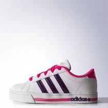 Zapatillas Adidas Neo Daily Team Niños Talle 35