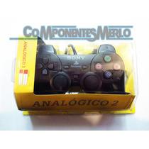 Joystick Ps2 Playstation 2 Sony Analogico