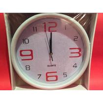Relojes De Pared Oval,moderno, Varios Diseños