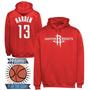 Buzos Campera Estampados Nba Houston Rockets James Harden