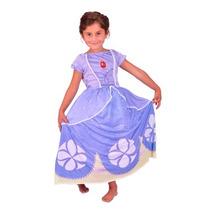 Disfraz De Princesita Sofia Con Licencia Original New Toys