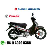 Zanella Zb 110 0km 12 Cuotas De $ 1150 Sin Interes Ahora 12
