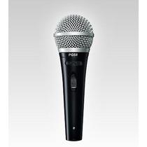 Micrófono Shure Pg58 Para Voces - Mic Vocal Cristalino Pg 58