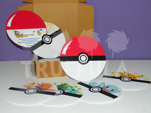 Invitaciones Cumpleaos Pokemon Muy Originales 180 hKVNk