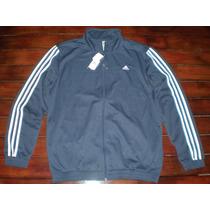 Campera Deportiva Adidas Modern Kn Suit Hombre Talle: L Azul