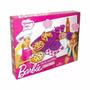 Barbie Quiero Ser Set De Comiditas Pizza Party Con Abrojo