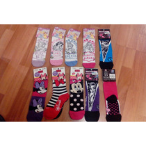 Medias Footy Minnie, Princesas, Monster High X Docena