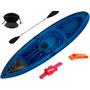 Kayak Sit On Top Kai Ideal Pesca + Remo + Asiento + Soga +