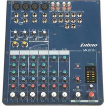 Mixer Consola Enbao / Yamaha Mg102c 10 Canales