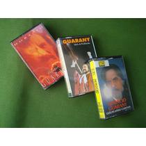 Colección De Tres Cassettes De Horacio Guarany
