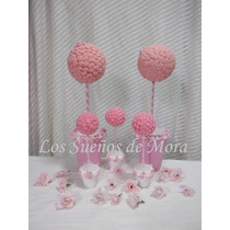 Souvenirs, Arbolitos,topiarios En Porcelana Fria