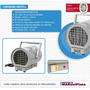 Caloventor Industrial Uso Continuo 220v 4.5kw