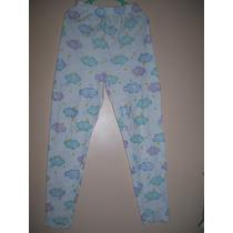 Pantalon Pijama Y Corpiño Deportivo Niña Talle 8 Años
