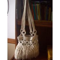 Cartera En Crochet-(san Martin)