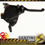 Acelerador Gatillo Con Bloqueador Mini Cuatriciclo 49cc