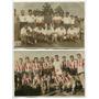 2 Fotos Antiguas Equipos De Futbol Club Argentino De Rosario