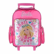 Mochila Carro Barbie18 Pulgadas Original - Mundo Team