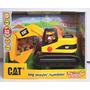 Cat Caterpillar Gran Máquina Presiona Y Anda C/ Sonido Intek