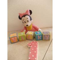 Mickey Y Minnie Bebe En Porcelana Fria Para Tu Torta
