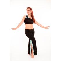 Conjunto Top Y Pantalón Danza Árabe Bellydance