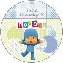 Kit Imprimible Personalizado + Candy Bar Pocoyo Completo
