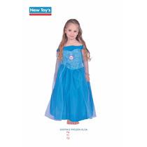 Disfraz Princesa Frozen Elsa ,anna ,sofia ,dra Juguetes Orig