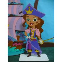 Disfraz Izzy Princesa Pirata Del Talle 4 Al 12
