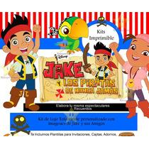 Kit Imprimible Jake Y Los Piratas Del País