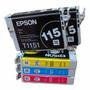 Pack 5 Cartuchos Epson Originales 115 - 103 (t1110 - T40w)