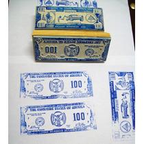 Sello Decorativo Curiosos Billetes