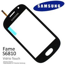 Touch Screen Vidrio Samsung Galaxy Fame S6810 Original +film