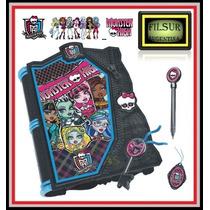 Monster High Diario Magico Con Luz Y Sonido Original Intek !