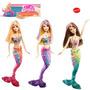 Barbie Sirena - Cambia El Pelo De Color De Mattel