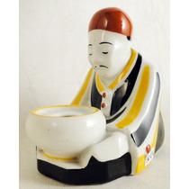 Antiguo Sahumador Francés Sellado Aladin Porcelana