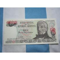 Bcra 10 $ Argentinos San Martin Anciano Serie A Bot 2614b