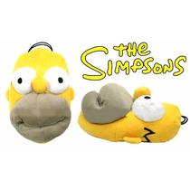 Pantuflas Homero Simpsons Alta Calidad 100% Original