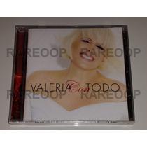 Valeria Lynch (cd) Valeria Con Todo (arg) Nuevo Y Cerrado