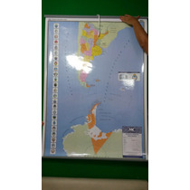 Mapa Mural De Argentina Bi Continental